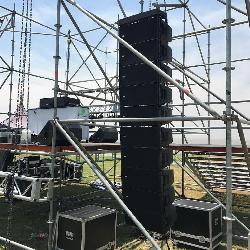 Alquiler de sistemas de sonido Alquiler de escenarios